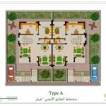 مخطط الطابق الأرضي