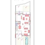 مخطط الطابق الثاني