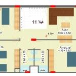 مخطط الطابق الاول لفيلا 11