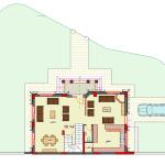 مخطط الطابق الارضي لفيلا 10